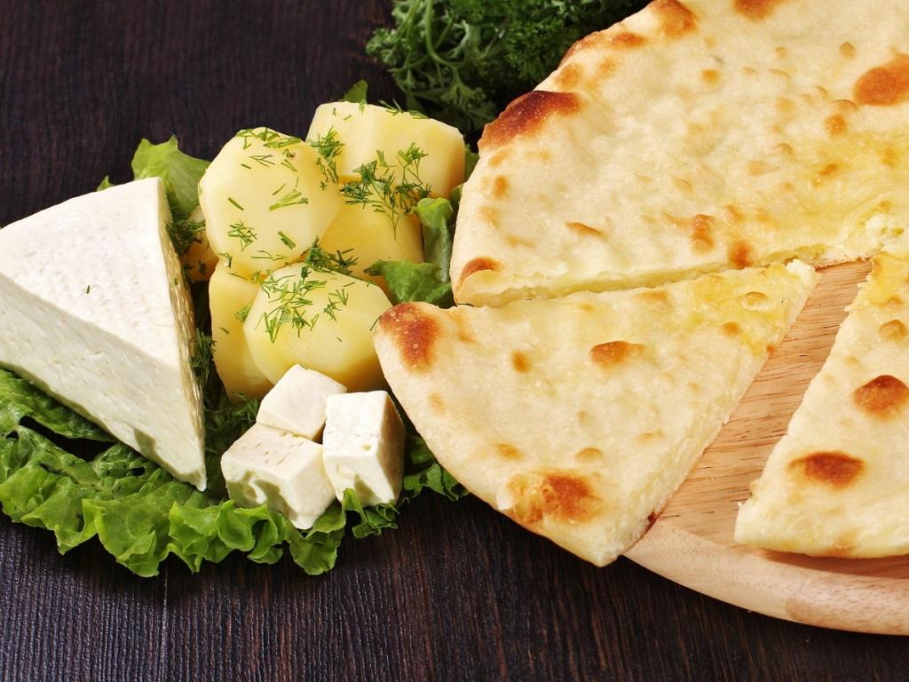 Осетинские пироги с картошкой и сыром рецепт